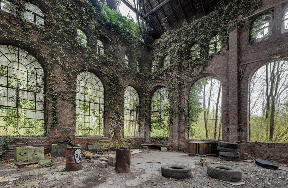 Urbex. Oude Steenfabriek