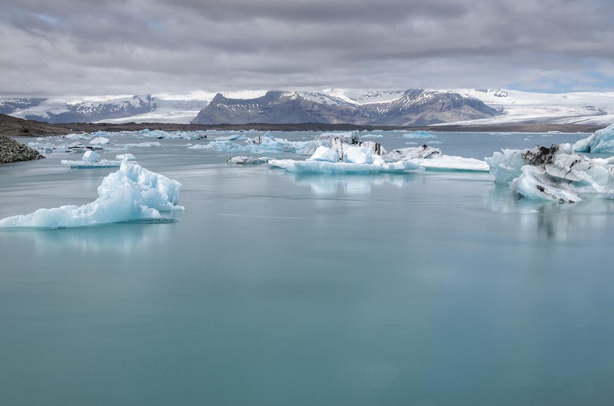 Jokusarlon Gletsjermeer.
