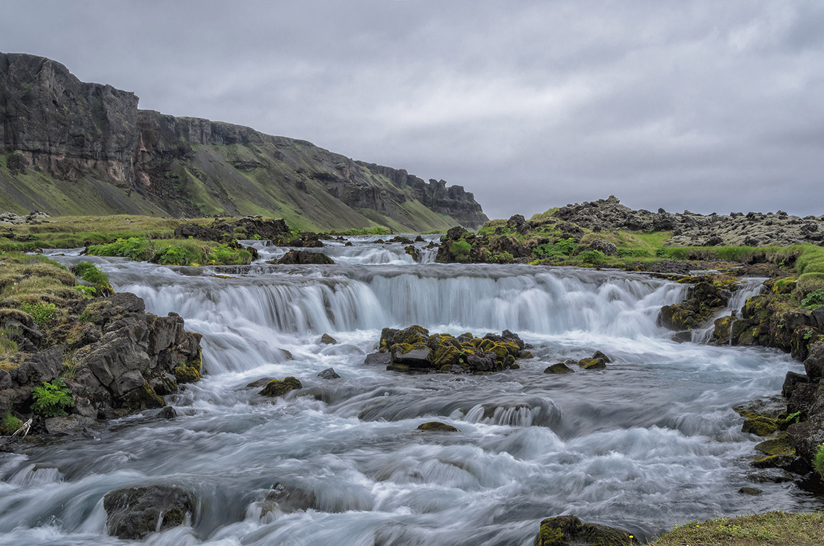 Sellfoss waterval.
